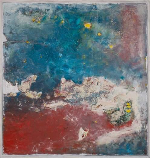 Mixed Media on Canvas, 210x220cm, 2014