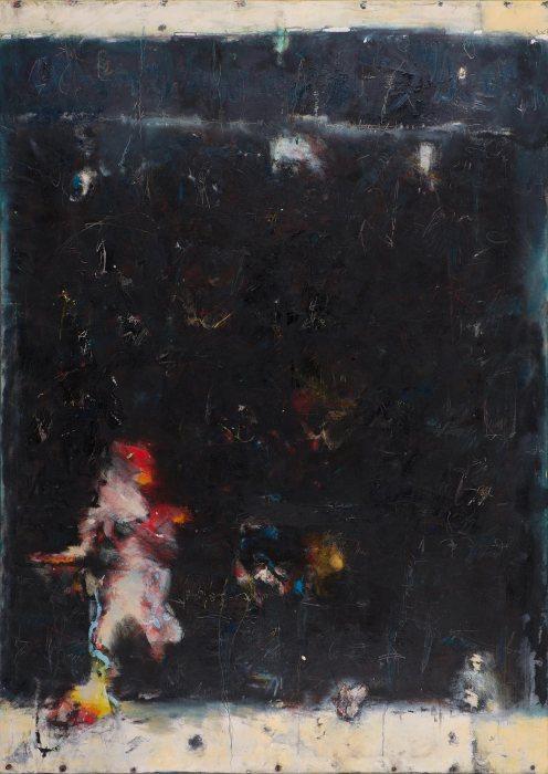 Mixed Media on Canvas, 275x190cm, 2014