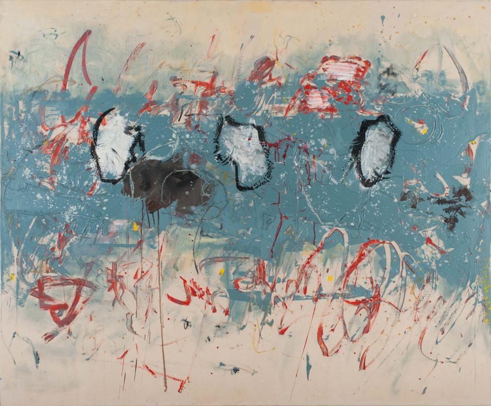 Mixed Media on Canvas, 150x180cm, 2013