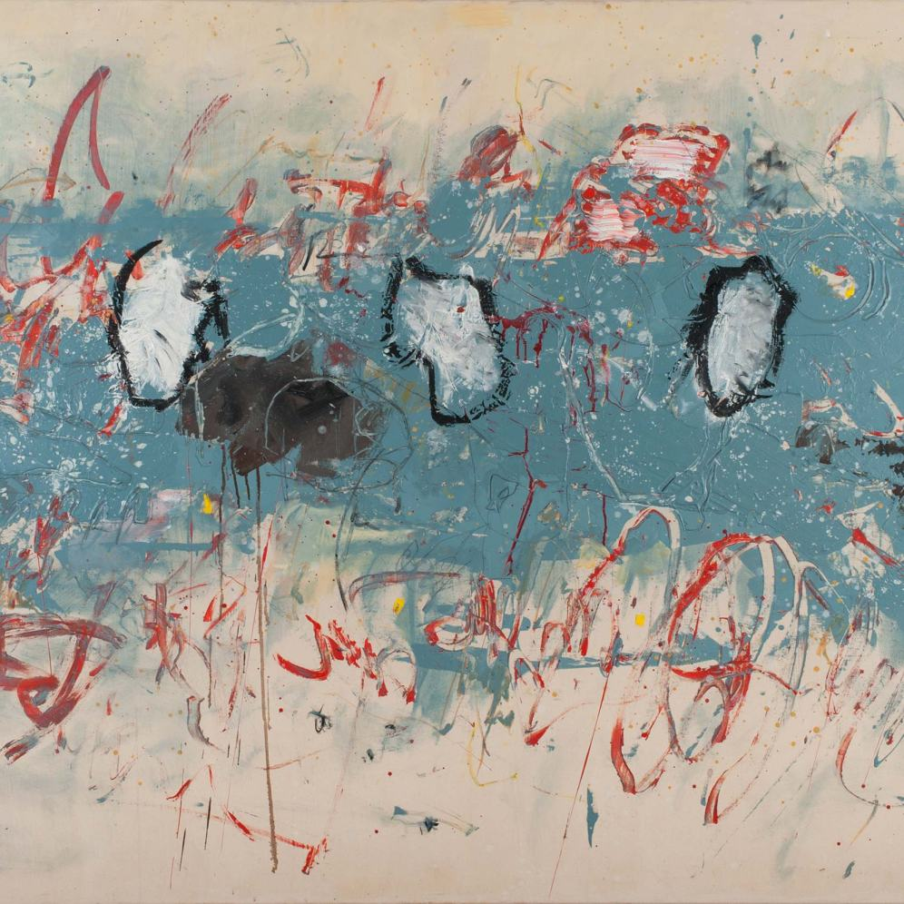 Mixed Media on Canvas, 150x180cm, 2013