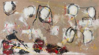 Mixed Media on Canvas, 140x220cm, 2013