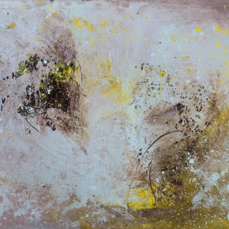 Mixed Media on Canvas, 110x155cm, 2018