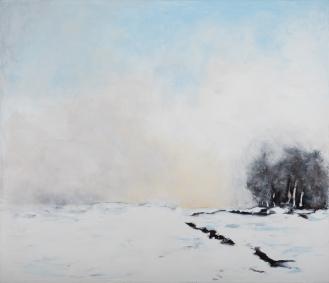 Mixed Media on Canvas, 155x180cm, 2018
