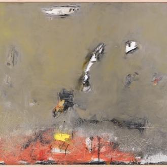 Mixed Media on Canvas, 135x155cm, 2018