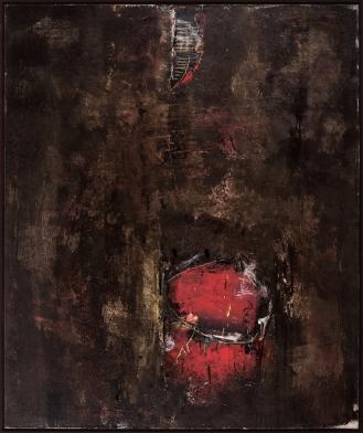 Mixed Media on Canvas, 180x150cm, 2018