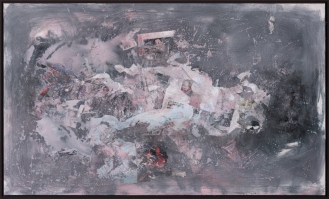 Mixed Media on Canvas, 95x160cm, 2018