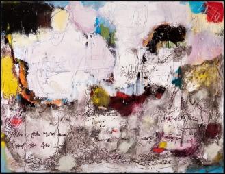 'Beautiful Dream', Mixed Media on Canvas, 200x260cm, 2018