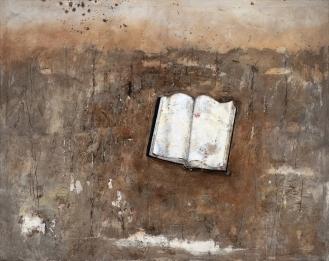 'Hommage an das Buch', Mixed Media on Canvas, 155x195cm, 2018