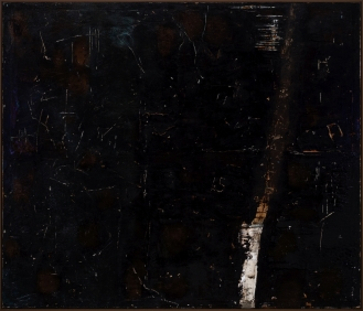 'Moonlight I', Mixed Media on Canvas, 170x200cm, 2018
