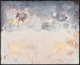 'Moonlight II', Mixed Media on Canvas, 110x135cm, 2018