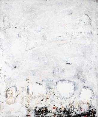 'Nostalgie', Mixed Media on Canvas, 180x150cm, 2018