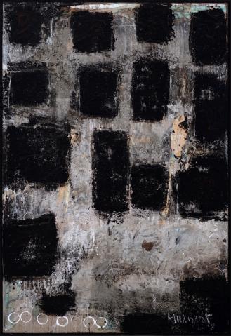 Mixed Media on Canvas, 150x100cm, 2018
