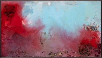 Mixed Media on canvas, 140x250cm, 2019