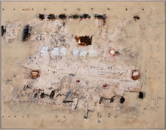 Mixed Media on canvas, 165x210cm, 2019