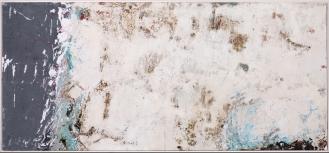 Mixed Media on canvas, 100x220cm, 2018