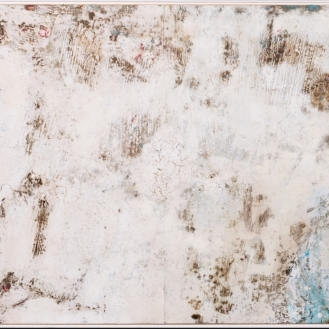 Mixed Media on canvas, 100x220cm, 2018