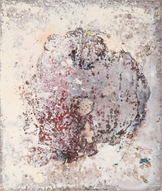 Mixed Media on canvas, 110x130cm, 2019