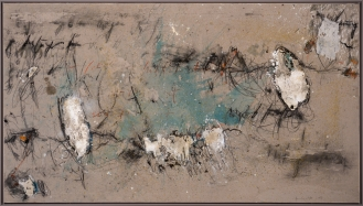 Mixed Media on Canvas, 140x250cm, 2018