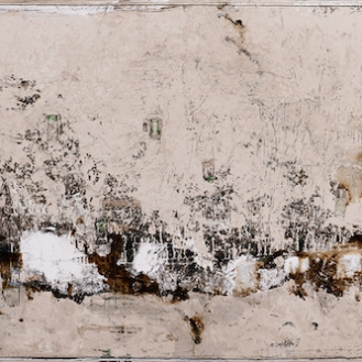 mixed media on canvas, 1100x265cm, 2020