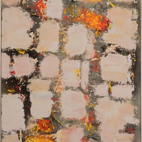 mixed media on canvas, 170x125cm, 2020
