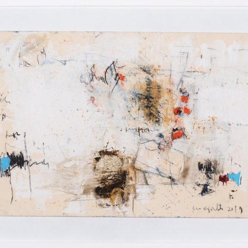 mixed media on canvas, 94x124cm, 2020