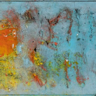 mixed media on canvas, 110x260cm, 2020