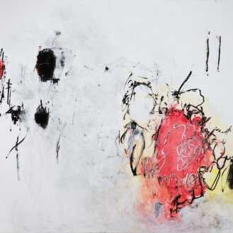 mixed media on canvas, 200x280cm, 2020