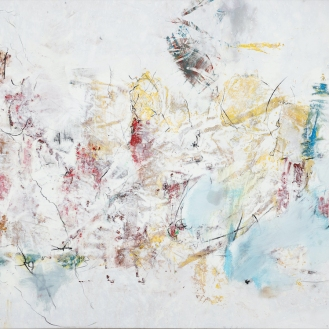 mixed media on canvas, 125x200cm, 2021