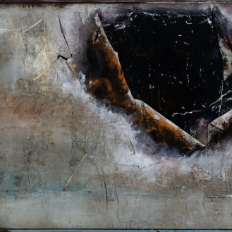 mixed media on canvas, 150x260cm, 2021