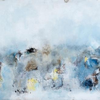 mixed media on canvas, 160x220cm, 2021