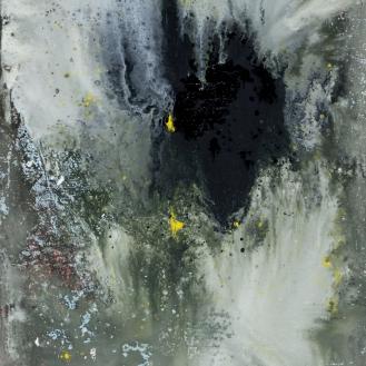 mixed media on canvas, 195x130cm, 2021