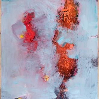 mixed media on canvas, 200x140cm, 2021