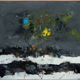 mixed media on canvas, 145x160cm, 2021