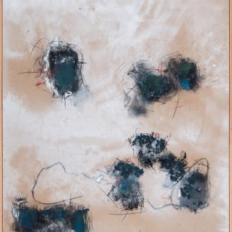 mixed media on canvas, 140x110cm, 2021