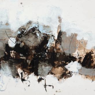 mixed media on canvas, 70x100cm, 2021