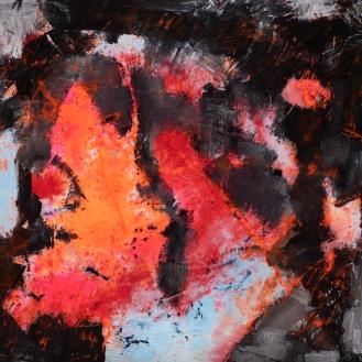 mixed media on canvas, 230x250cm, 2021